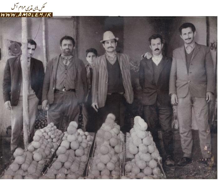 میوه فروشی اقای قربانی میدان هفده شهریور ۱۳۴۸