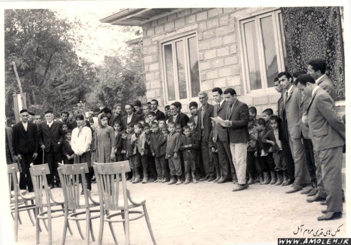 مدرسه پاشا کلا دشت سر دهه ۴۰