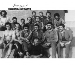 عکس يادگاري ورزشي دهه 50