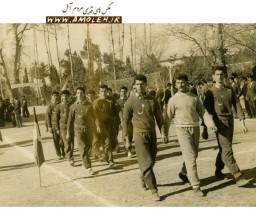 رژه ورزشکارا در گرگان سال 1338
