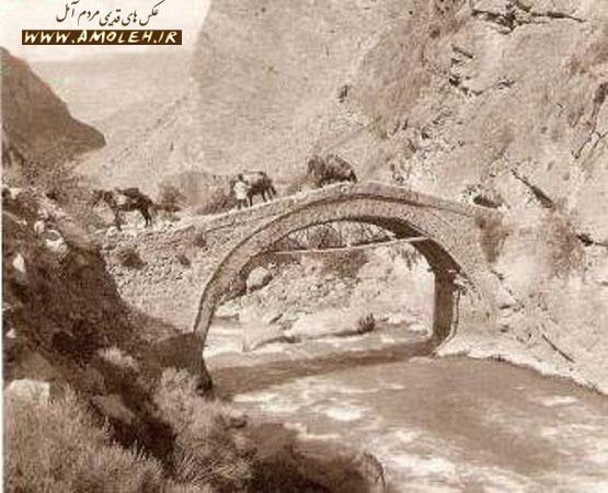 پل قاجاری رودخانه هراز