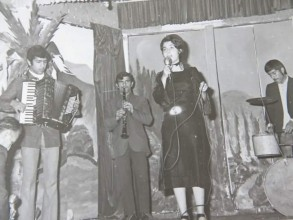 کنسرت در سالن پیشاهنگی آمل سال 1350