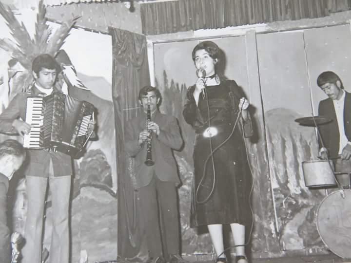 کنسرت در سالن پیشاهنگی آمل سال ۱۳۵۰