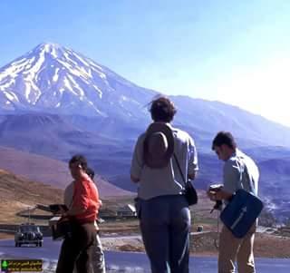 polour tourist توریست های خارجی در پلور دهه ی 40